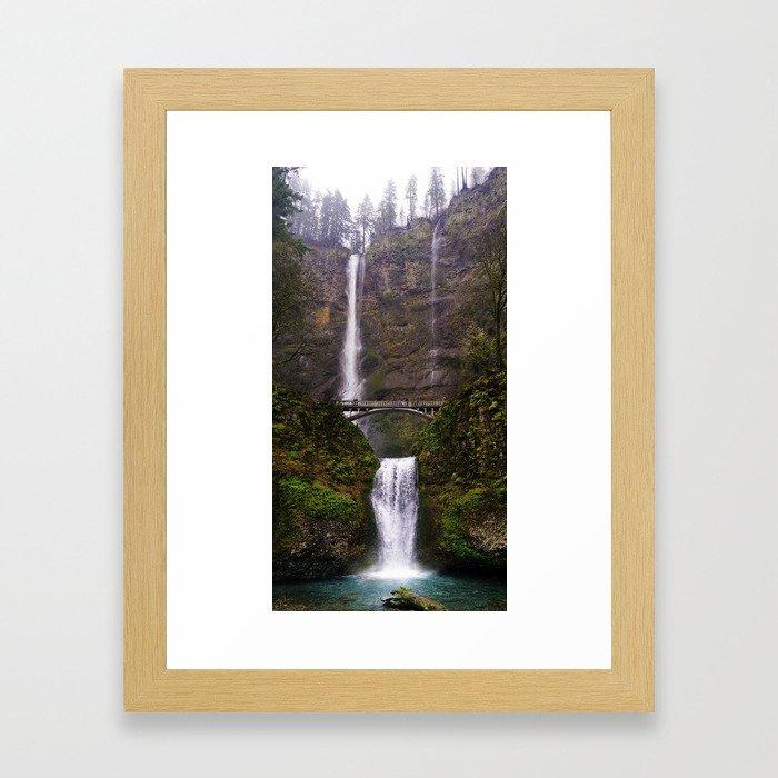 Rainy Multnomah Framed Art Print