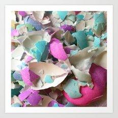 Eggshells Art Print