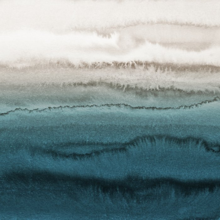 WITHIN THE TIDES - CRASHING WAVES TEAL Comforters