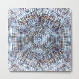 Digital Meditation 4 Metal Print