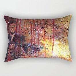 Tony Montana in Scarface Rectangular Pillow