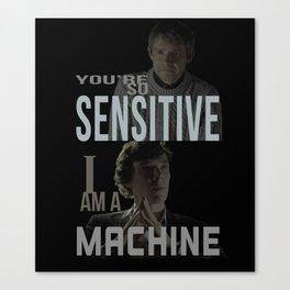 Sensitive Canvas Print