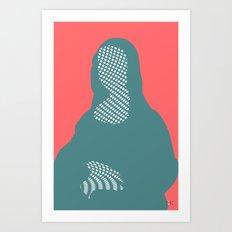 Mona, nu mach aber mal ein Punkt ·6 Art Print