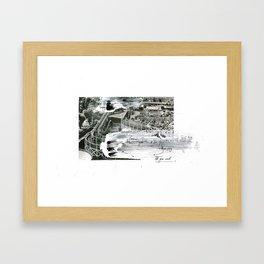 'Decline' (2) Framed Art Print