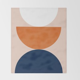 Abstraction_Balance_Minimalism_001 Throw Blanket