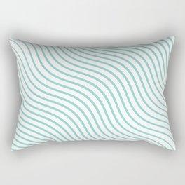 Tirquaz wavy modern lines Rectangular Pillow