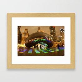 luminous field Framed Art Print
