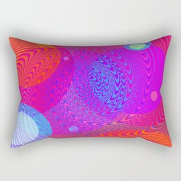 Re-Created Twisters No. 6 by Robert S. Lee Rectangular Pillow