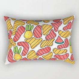 Fruity and Fresh Rectangular Pillow