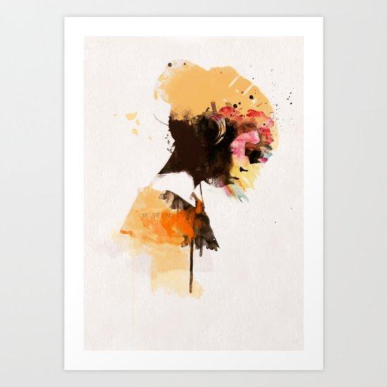 Stardust* Art Print