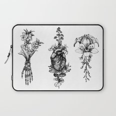 In Bloom - herbarium Laptop Sleeve