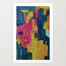 The moment Art Print