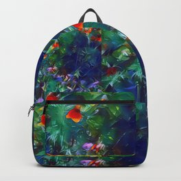 Patchwork Flowers Backpack
