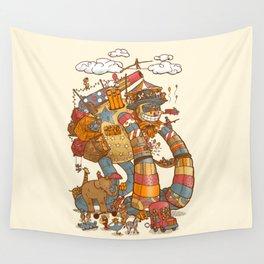 Circusbot Wall Tapestry