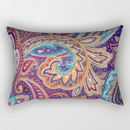 Summer paisley Rectangular Pillow