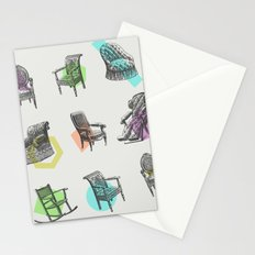 Old Chairs Stationery Cards