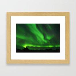 The Northern Lights 07 Framed Art Print