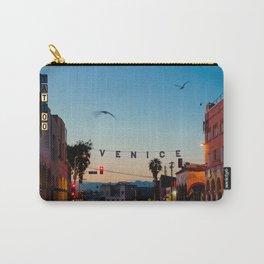 Venice Beach California Sunrise Carry-All Pouch