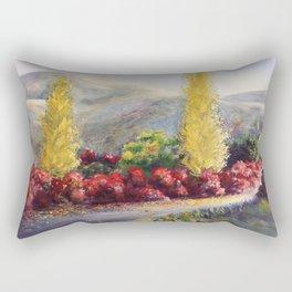 L allée des cotinus Rectangular Pillow