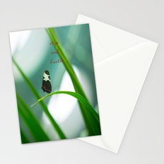 Stop and Breathe - A Reminder Stationery Cards