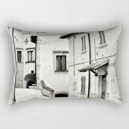Italian street view 03 Rectangular Pillow