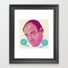 Tony Soprano Framed Art Print