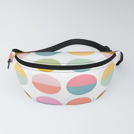 Colorful and Bright Circle Pattern Fanny Pack