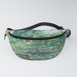 burrell water liliesx Fanny Pack