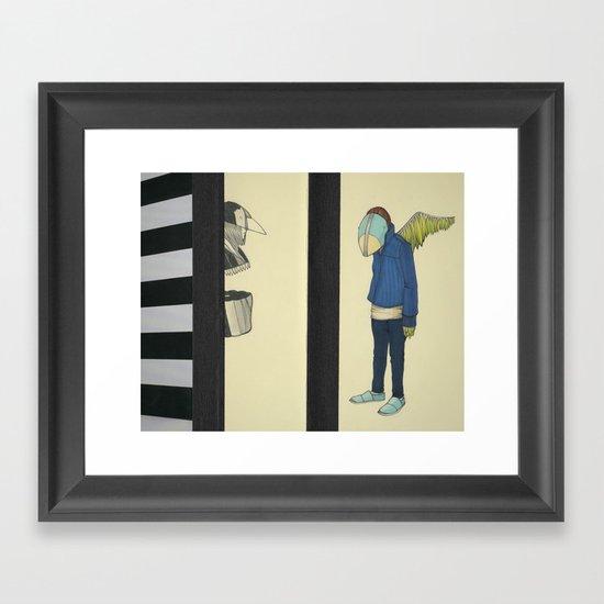 In Defense Of Whatever Framed Art Print