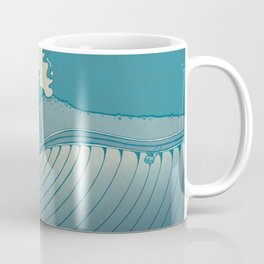 A whale ate her by mistake and spat her up in the sky Coffee Mug