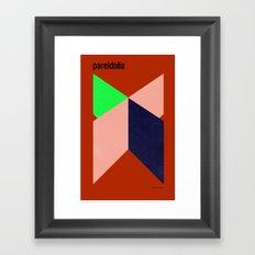 Pareidolia Framed Art Print