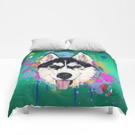 Husky Malamute Comforters