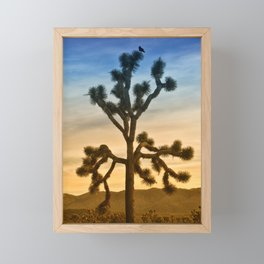 JOSHUA TREE - CALIFORNIA Framed Mini Art Print