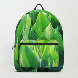 Green leaves so beautiful. Backpack