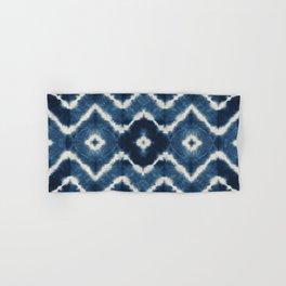 Shibori, tie dye, chevron print Hand & Bath Towel