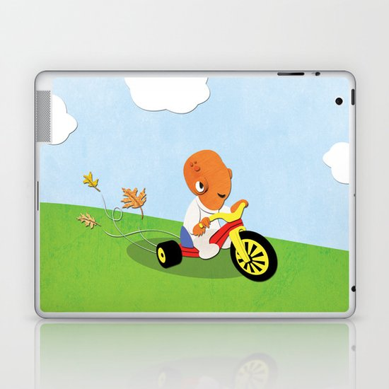 SW Kids - Big Wheel Ackbar Laptop & iPad Skin