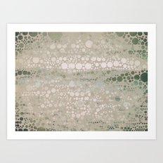 Sea Glass -- Abstract  Art Print