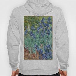 Vincent van Gogh's Irises Hoody