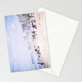 Misty Beach Stationery Cards