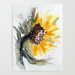 Sunflower for Evie Poster