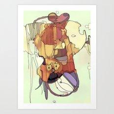 Confusion. Art Print