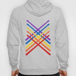 Retro Musician Drum Sticks Hoody