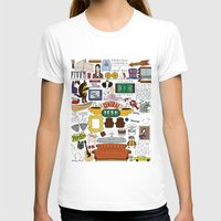 T-shirts featuring Collage by Loverly Prints