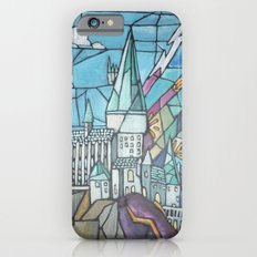 Hogwarts stained glass style Slim Case iPhone 6