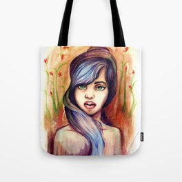 She is Lavender Tote Bag
