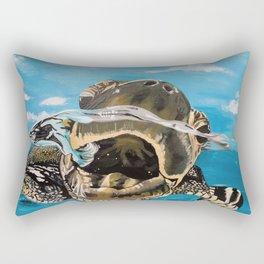Sea Turtle By Noelle's Art Loft Rectangular Pillow