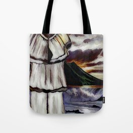 When The Pant Suit When On Vacation Alone Tote Bag