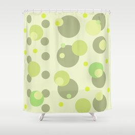 green tea Shower Curtain