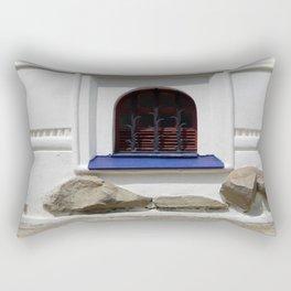 Window architecture Ukrainian Baroque the fragment of the building Rectangular Pillow