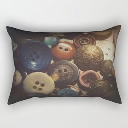 Button Club Rectangular Pillow
